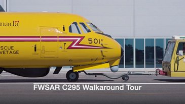 C295 FWSAR Walkaround Tour