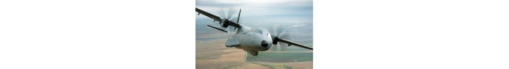 Airbus C295 transport aircraft flying
