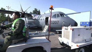 C295W Takes Off From Ensenada, Mexico