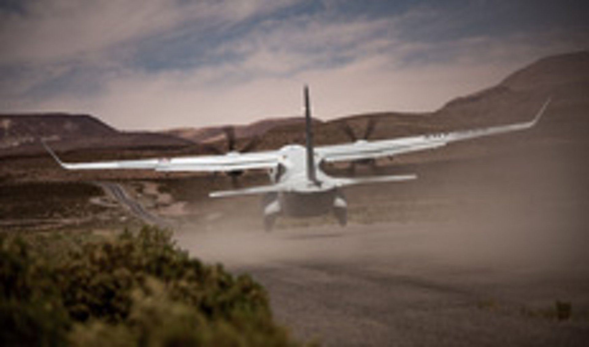 C295 landing