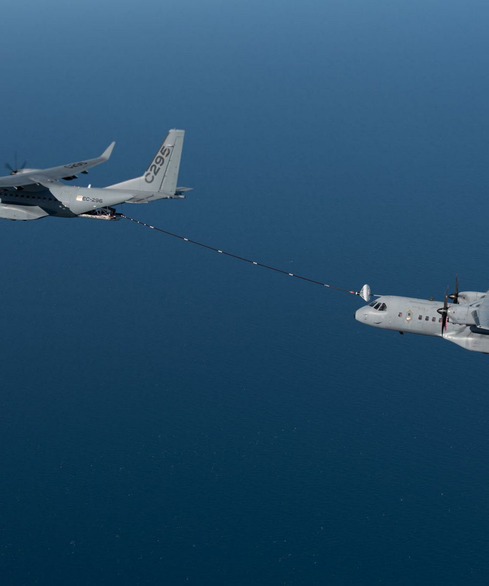 Air-to-air refuelling capability of the Airbus C295W