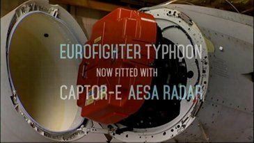 Eurofighter Captor-E radar