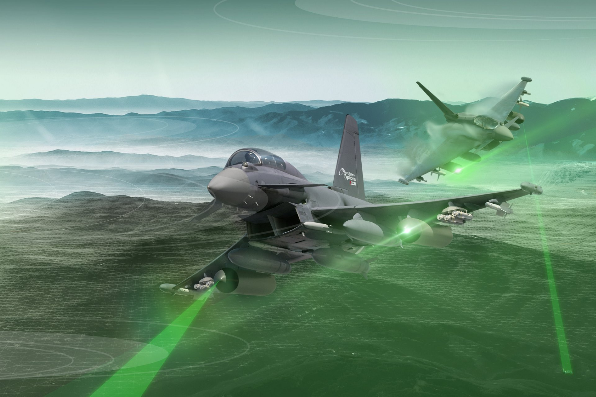 The new Eurofighter electronic combat role (ECR)