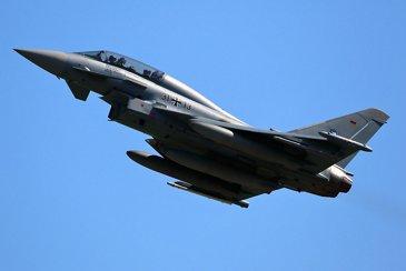 Take Off Eurofighter Typhoon - Germany