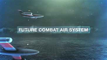 Demonstration of manned-unmanned teaming for future air combat systems