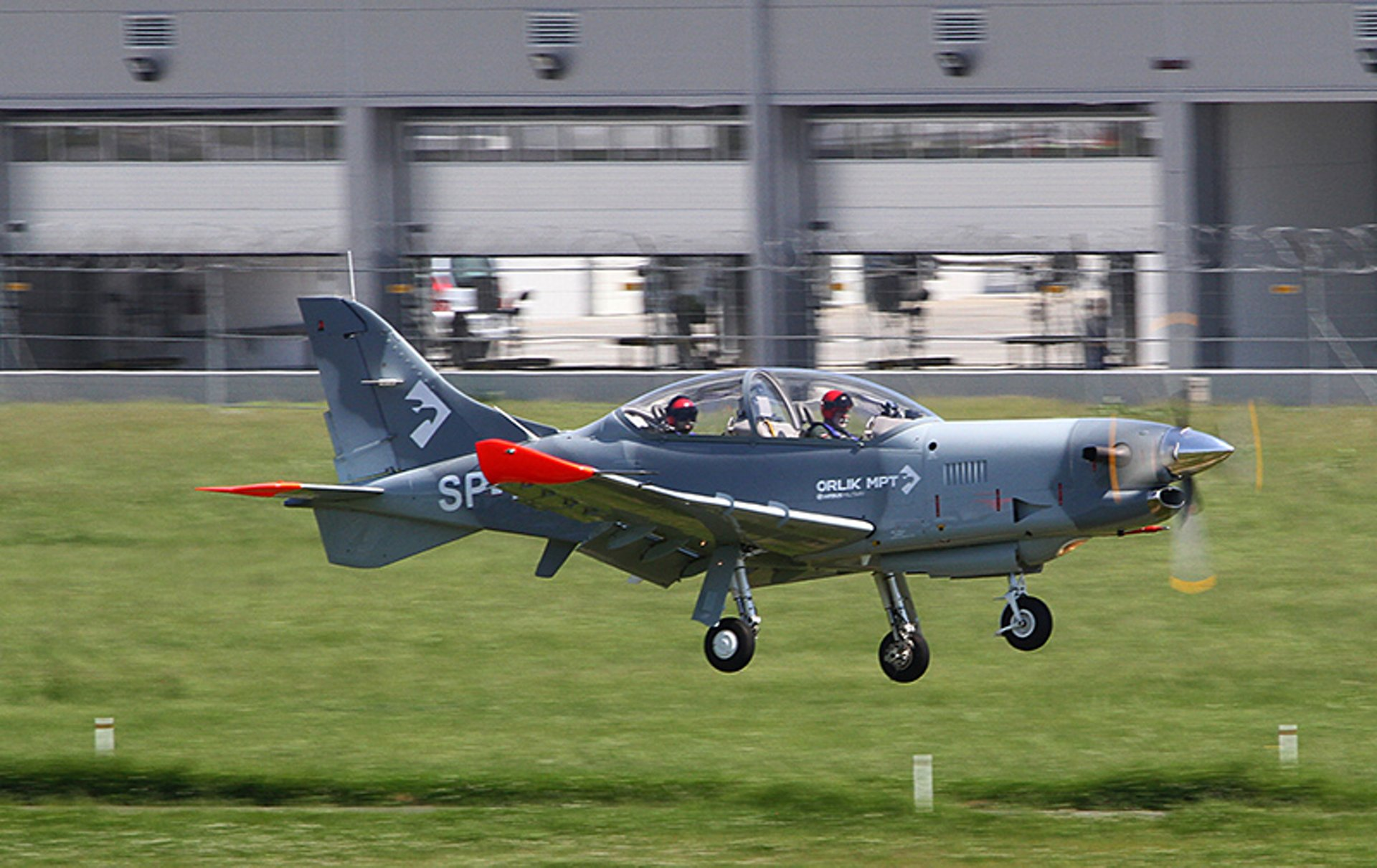 PZL 130 Orlik MPT (Multi Purpose Trainer) aircraft in the air