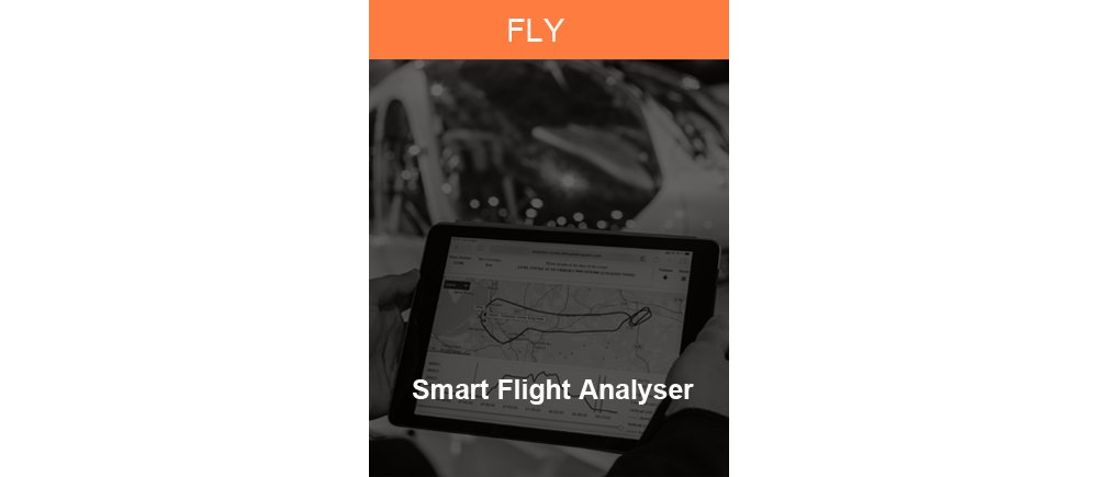Representative graphic for Airbus' Smart Flight Analyser services, available for military aircraft customers.