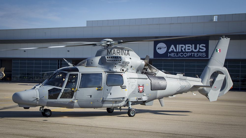 Airbus Helicopters delivers first AS565 MBe Panther to the Mexican Navy, Delivery of the first  AS565 MBe Panther to  the Mexico'Marine at Airbus Helicopters (Marignane)., Airbus Helicopters delivers first AS565 MBe Panther to the Mexican Navy