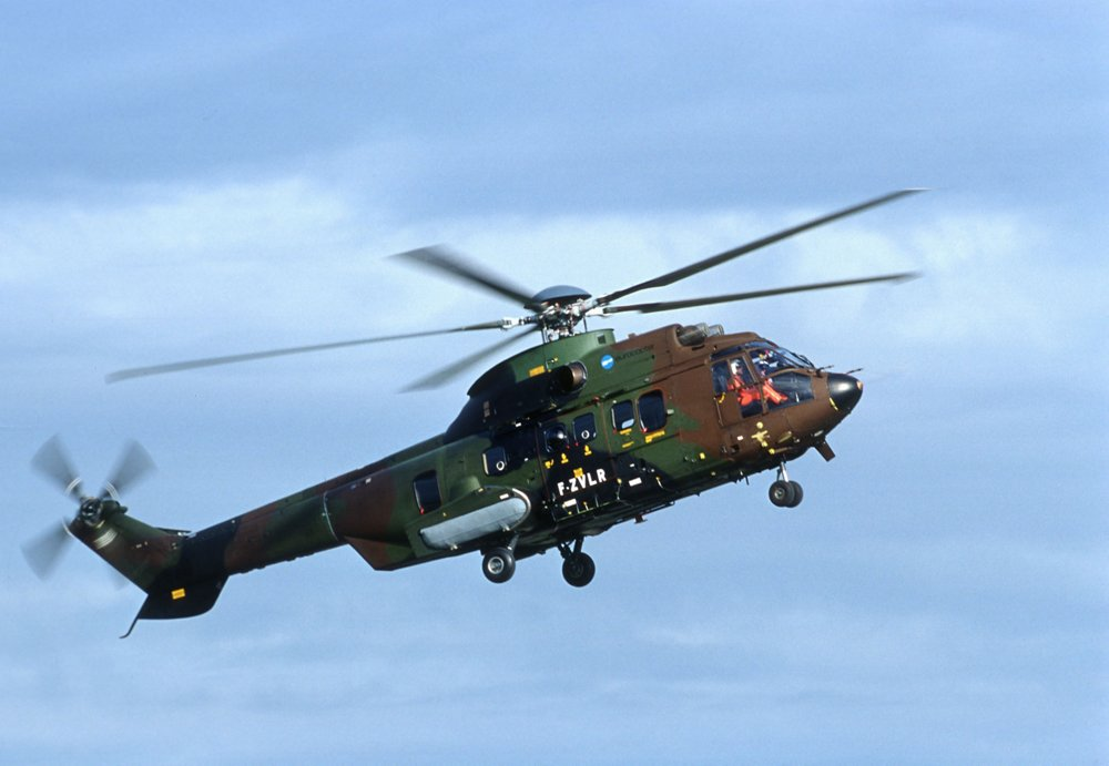 The MK2+ version of the EC725 military helicopter (later re-designated the H225M) performed its maiden flight in 2000.