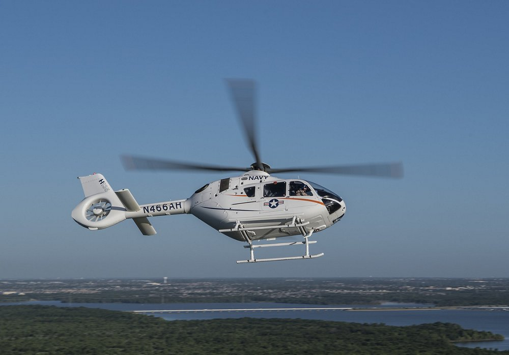 """The H135 is a market leading twin-engine, multi-mission helicopter performing the primary training mission for some of the finest militaries in the world,"" said Chris Emerson, President of Airbus Helicopters Inc."