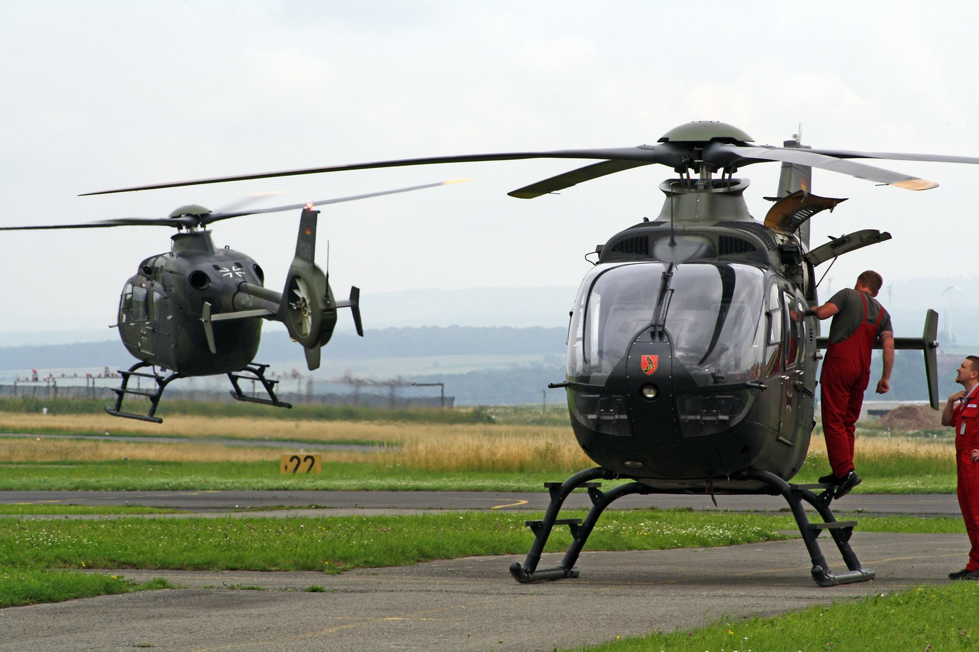 Globally, 132 H135 and H135Ms are in service with military training programmes.