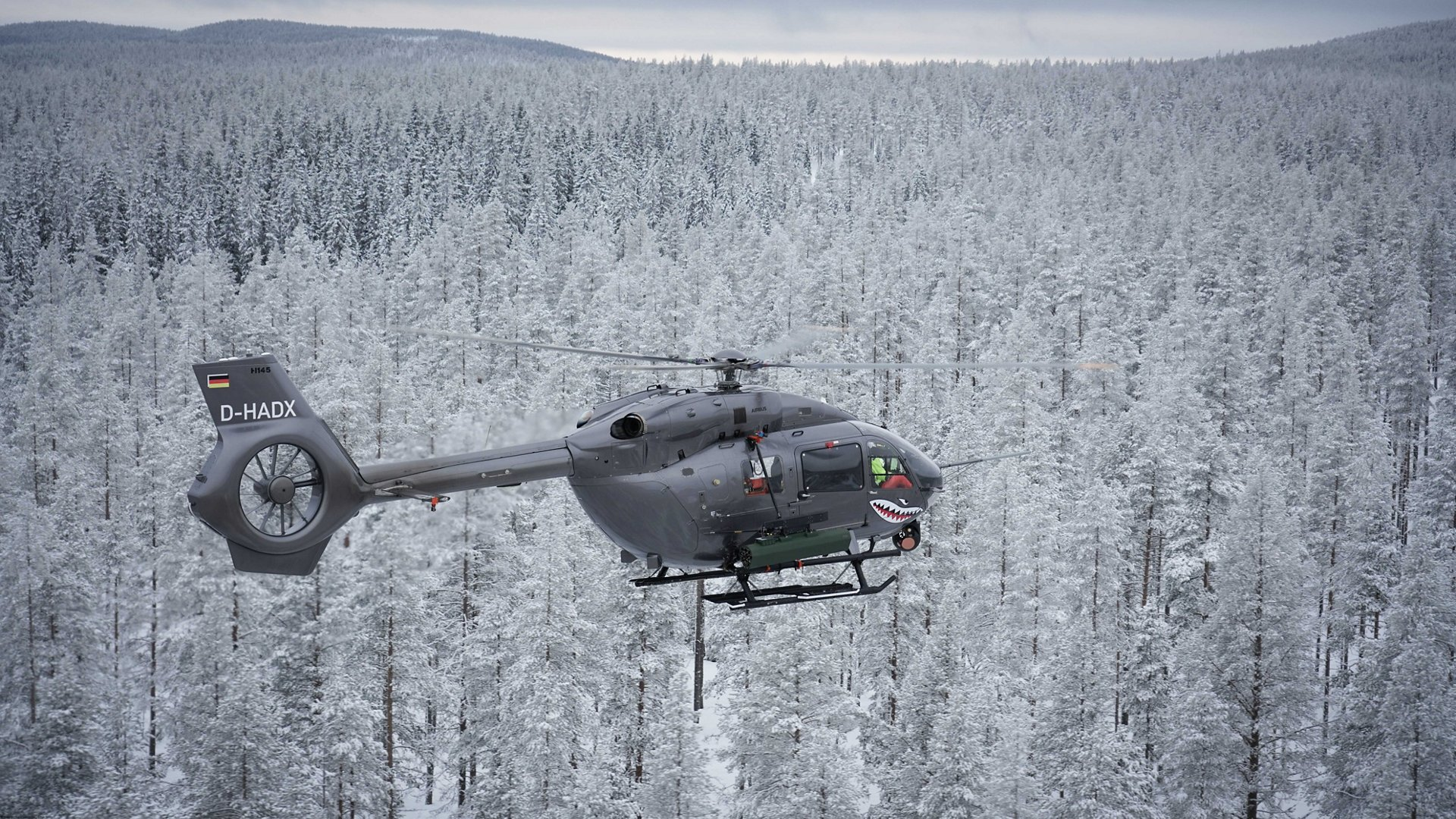 The successful capability enhancement for the H145M continues. In the first weeks of December 2017, Airbus Helicopters demonstrated the ability to fire laser guided rockets (FZ275 LGR from Thales) with its new H145M platform at the Älvdalen test range of the Swedish Defence Materiel Administration Flight test Centre.