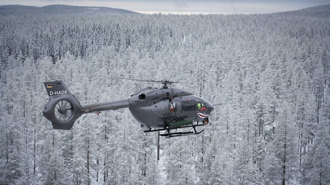 H145M successfully launched 70mm Laser Guided Rockets during its firing campaign in Sweden