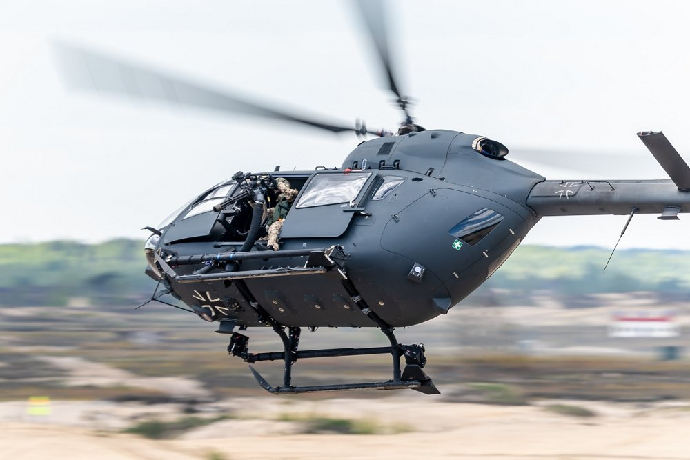 Image of H145M in flight