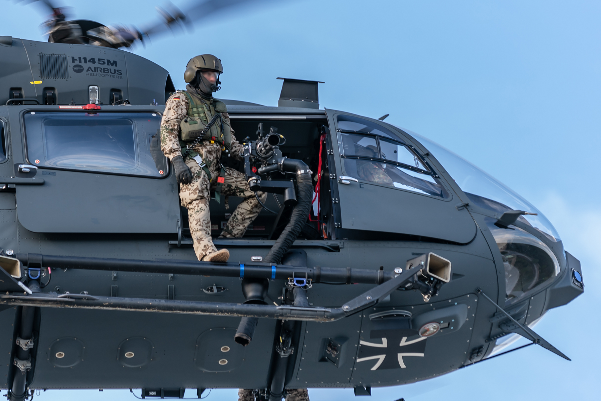 The H145M offers the crucial capability of delivering troops and materials quickly with minimum delay, can rapidly apply fire power to neutralise or destroy opposing forces, offers support for friendly forces in combat, and is ideal for acquiring information, interpreting and exploiting it.