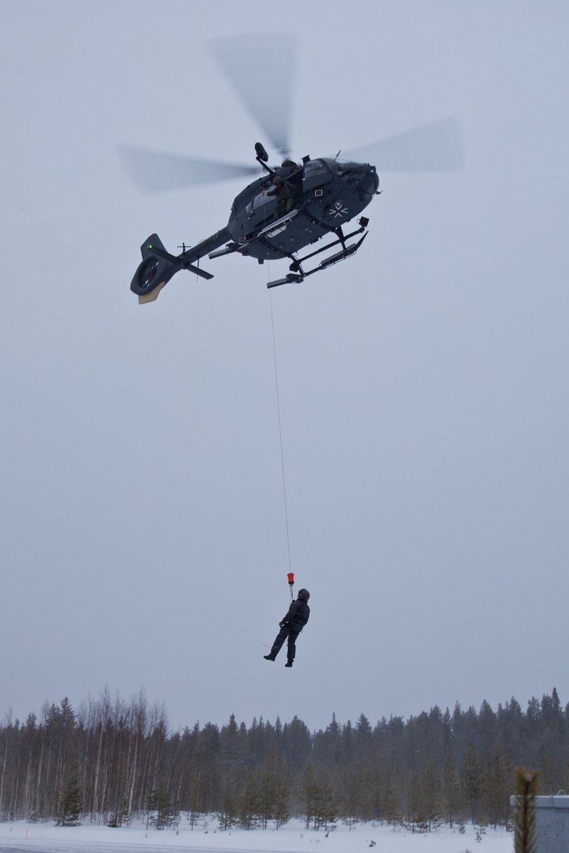 Cold weather testing with H145M