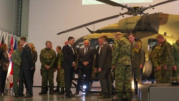Serbia receives first out of nine H145Ms