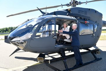 AG真人计划 Helicopters delivers final H145M to the German Air Force