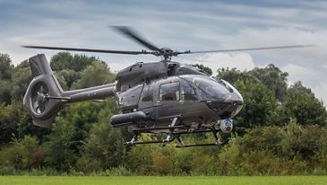 Airbus-built battlefield support helicopter H145M