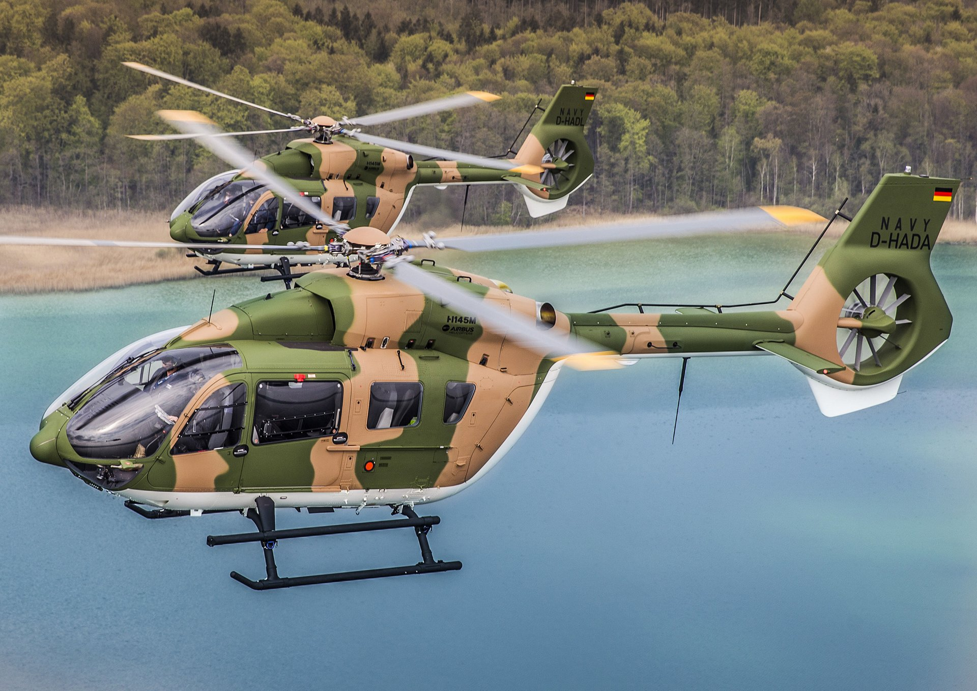Airbus Helicopters hands over first two H145M to Royal Thai Navy