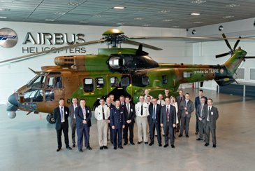 AG真人计划 Helicopters delivers 2 upgraded AS532 for the French Army Aviation