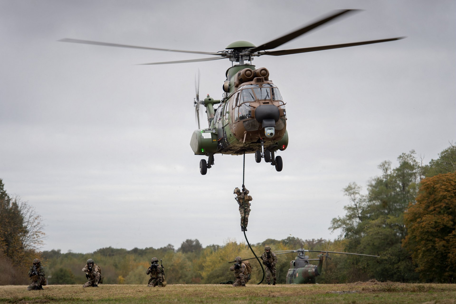 Troop transport and MEDEVAC