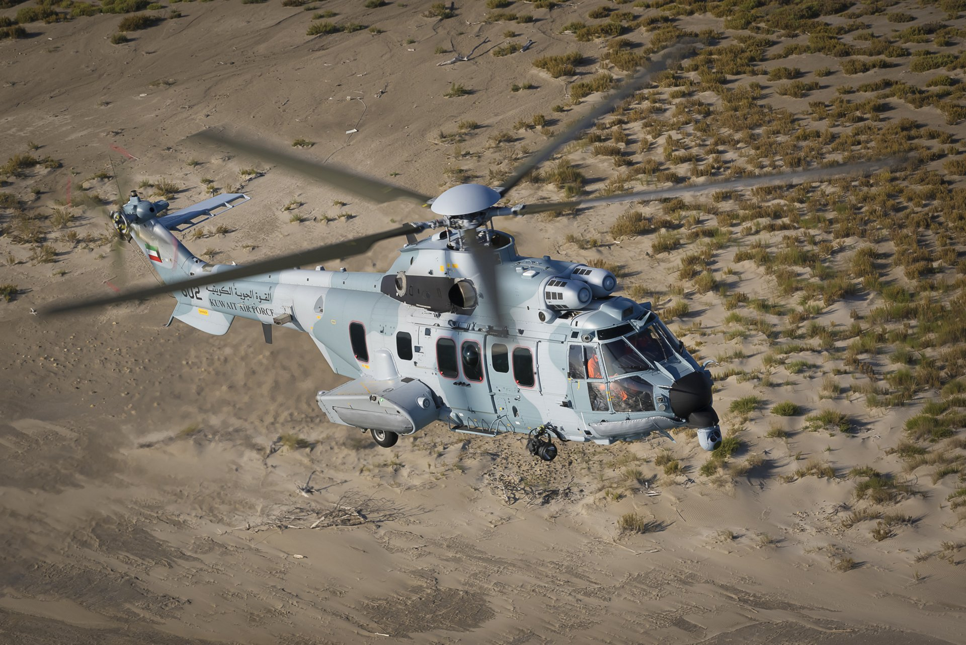 The first H225Ms to be delivered to Kuwait