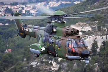 H225M in flight