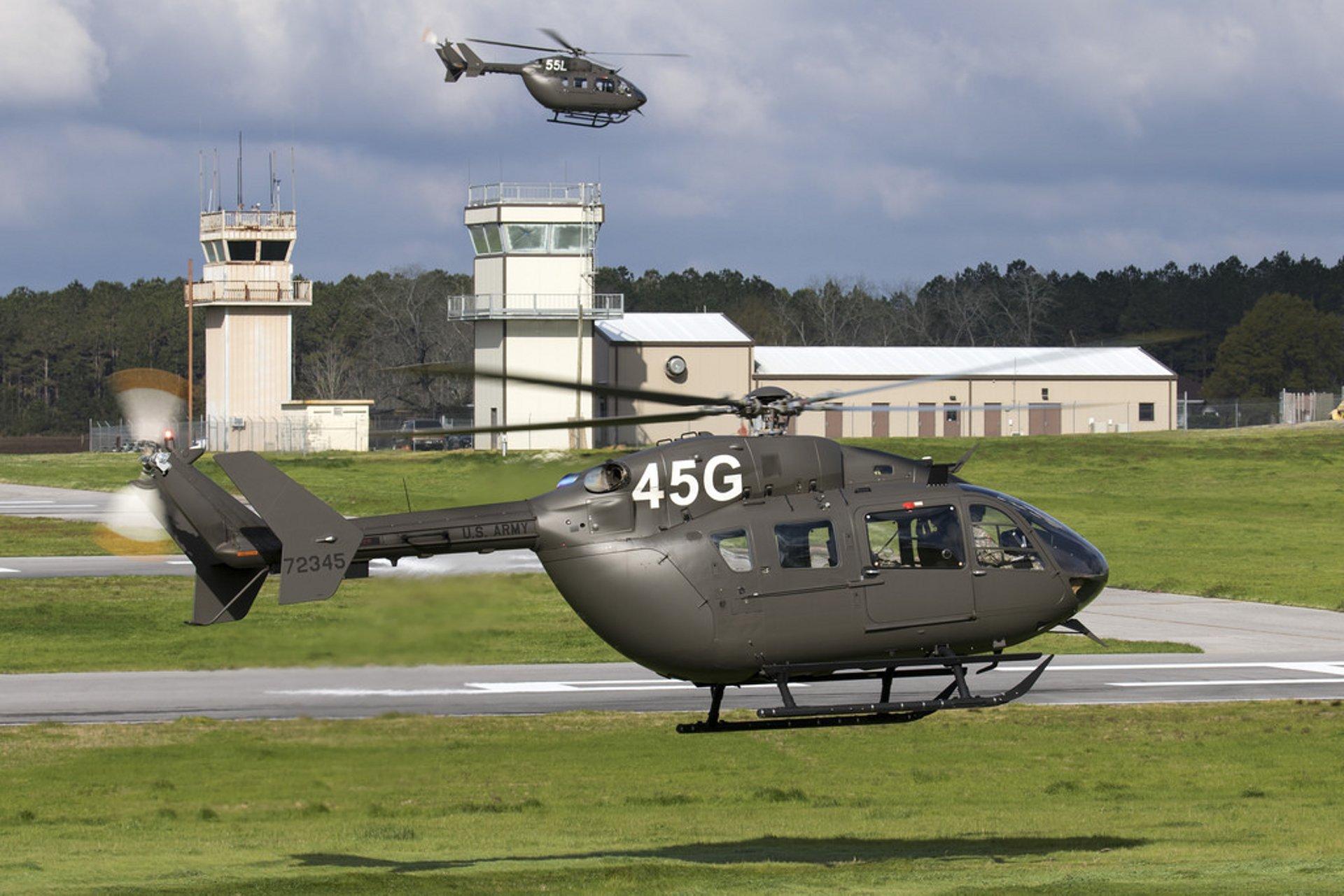 UH-72A Lakota helicopters
