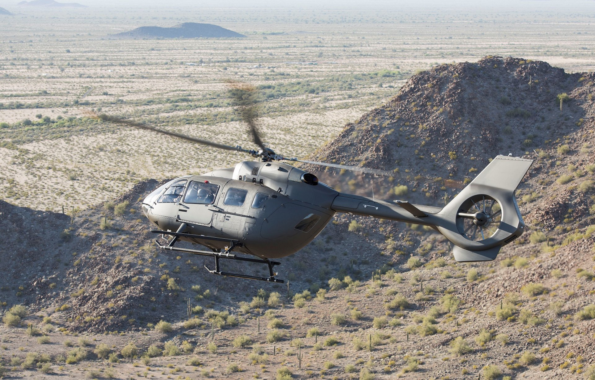 Concept image of the Lakota UH-72B, which will enter operation in 2021. Airbus photo.