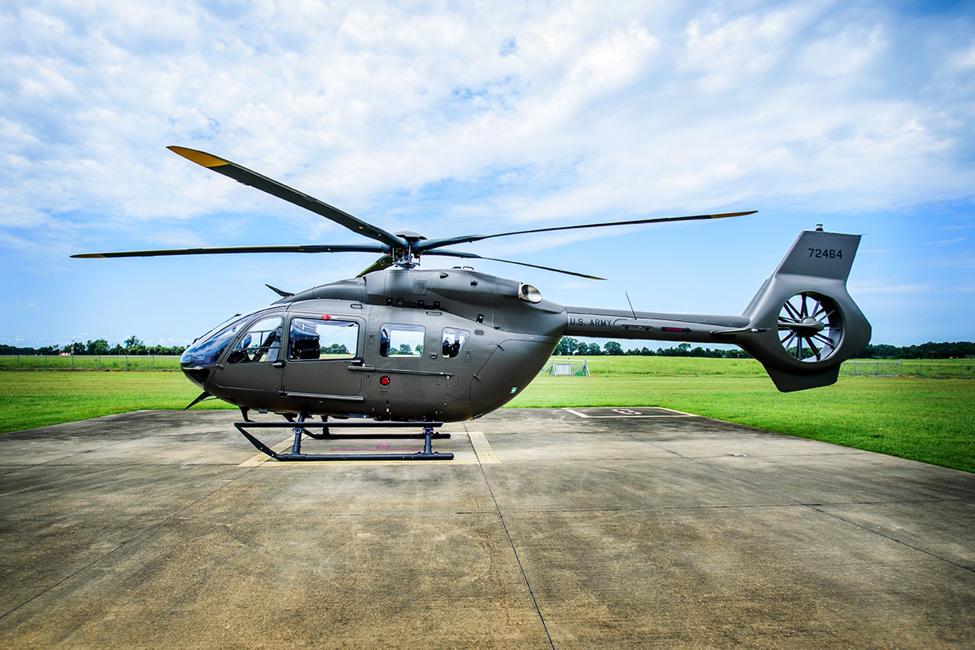 Airbus Helicopters, Inc. has delivered the first UH-72B, the latest variant of its Lakota helicopter, to the U.S. Army National Guard from its production facility in Columbus, Mississippi.
