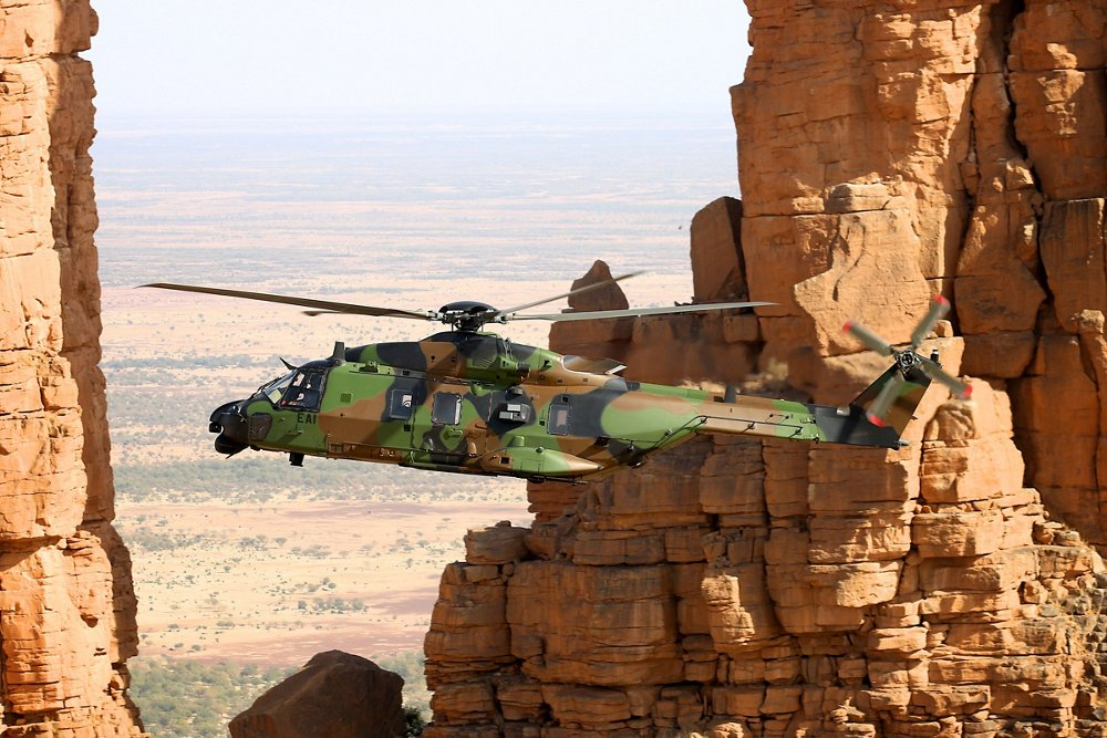 The French Defence Procurement Agency orders six additional NH90s for the French Army Aviation