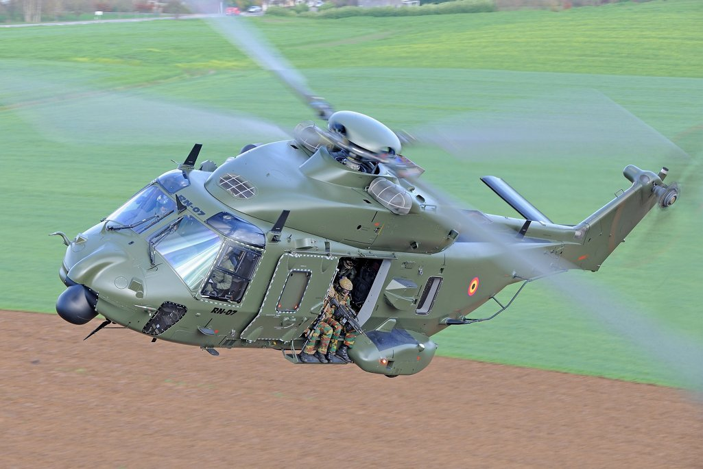 The NH90 offers an extensive list of role-tailored equipment allows that fit operators' mission needs