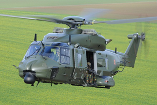 Belgian Air Component's NH90 TTH offers a wide modular cabin to be rapidly configured for a wide range of missions