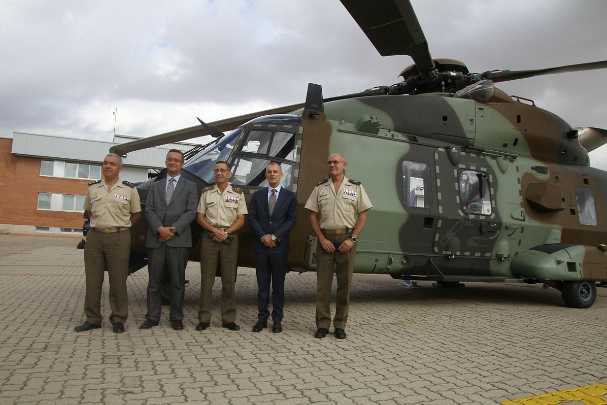 Spanish Army Takes Receipt of First NH90s