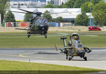 NH90 and Tiger Flying Display - 24 June PAS 2017
