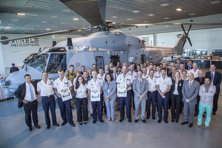 Delivery of  NH90 NFRN07 at Airbus Helicopters, Airbus Helicopters delivers 15th NH90 NFH to the French Navy