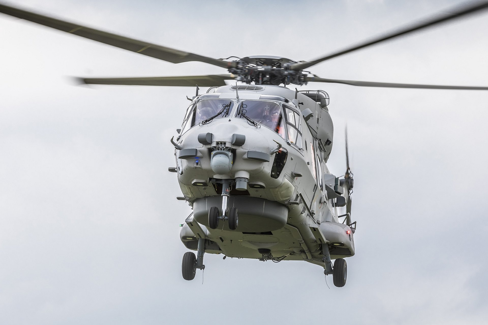 NH90 NGEN002 Sea Lion Erstflug