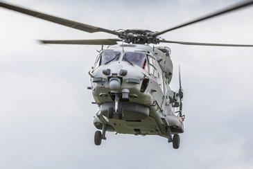 NH90 NGEN002 Sea Lion Erstflug