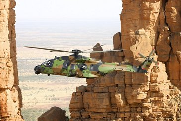 French Army Light Aviation NH90 in Mali