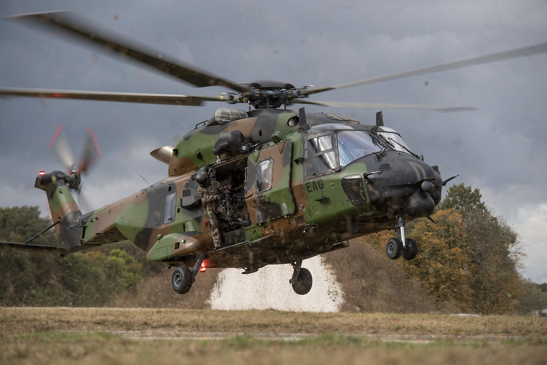 The NH90 military helicopter was designed to meet the most stringent NATO standards.