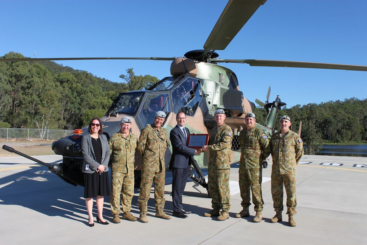 Australian Army's Tiger ARH Achieves 2,000 Flight Hours