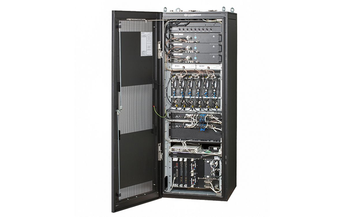 New Multi-Standard Base Station for broadband in the 400 MHz frequency range