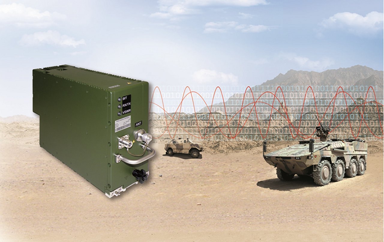 Software-controlled radio system for Armed Forces