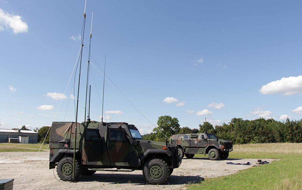 Bundeswehr's EAGLE IV armoured vehicles