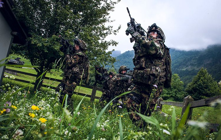 With IMESS, the Swiss Army has one of the world's most powerful and high-tech soldier systems at their disposal