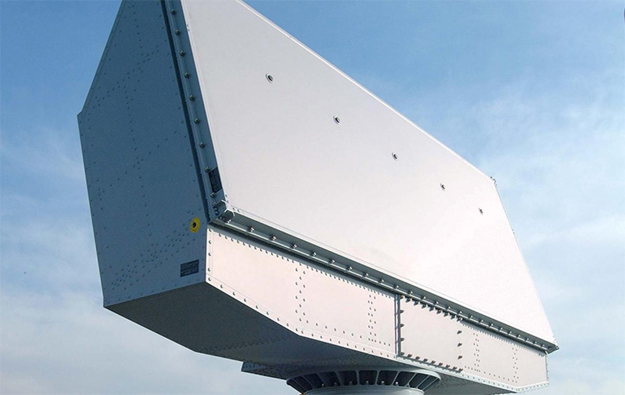 TRS-3D naval radar