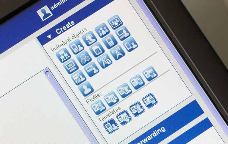 User management tool Tactilon of Airbus to handle a high number of radio users