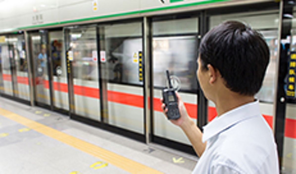 More than 20 metro lines in China are using secure Tetra radio networks from Airbus