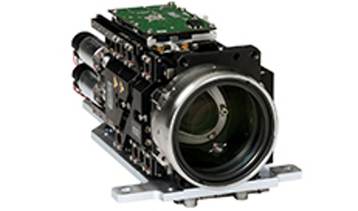 """""""RedKite"""", the new infrared camera developed by Airbus, ensures optimum visibility in spite of mist, fog or heat haze"""
